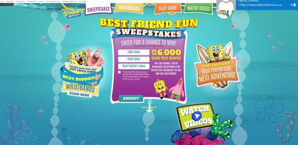 nick.com/KCfun – Best Friend Fun Sweepstakes