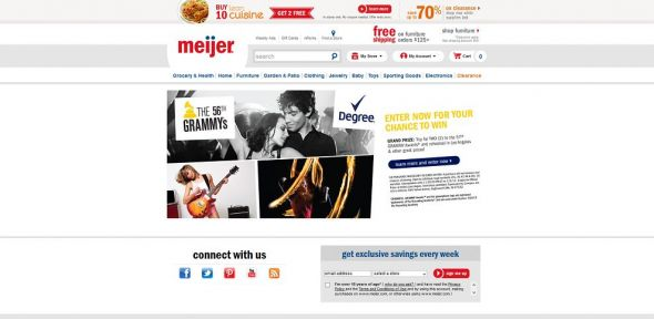 Meijer Win a Trip to the 2015 Grammy Awards Sweepstakes