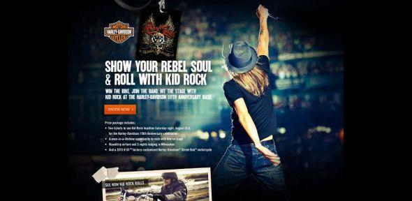 Harley-Davidson Rebel Soul Contest