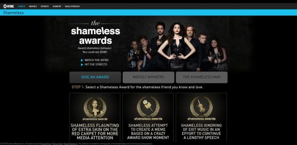 The Shameless Awards Contest