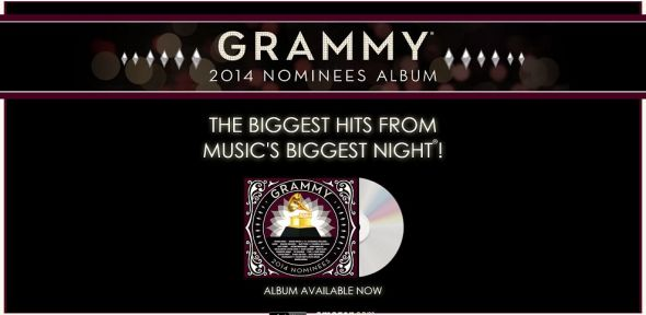 2014grammyalbum.com – 2014 GRAMMY Nominees Album GRAMMY Ticket Game