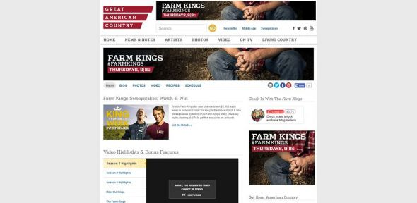 gactv.com/farmkings – Farm Kings King of the Week Sweepstakes