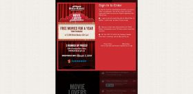 World Market's Movie Lover's Sweepstakes