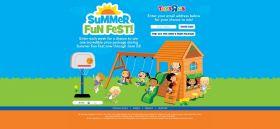 summerfunfestsweeps.com – Toys R Us Summer Fun Fest Sweepstakes