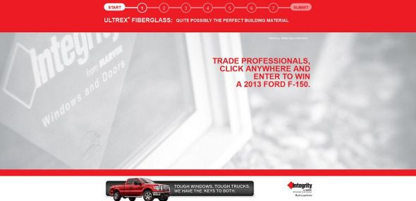 Integrity Ford F-150 Sweepstakes