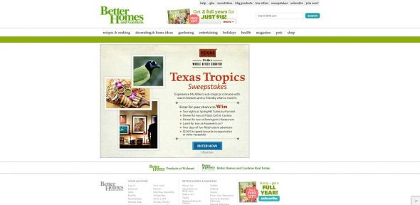 Texas Tropics Sweepstakes