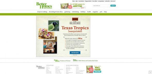Texas Tropics Sweepstakes