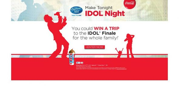 Coca-Cola American IDOL Sweepstakes and Instant Win