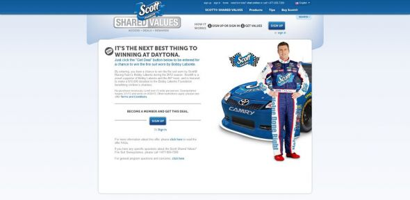 Scott Shared Values Fire Suit Sweepstakes
