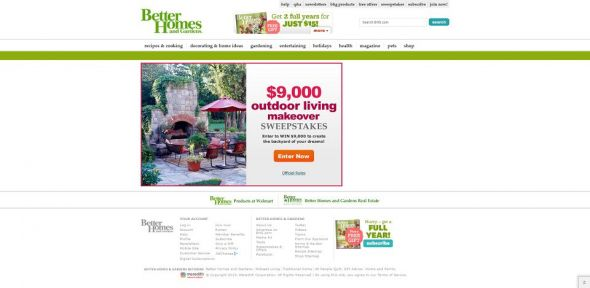 Outdoor Living Sweepstakes
