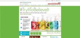 Bath & Body Works #TryItToBelieveIt Promotion