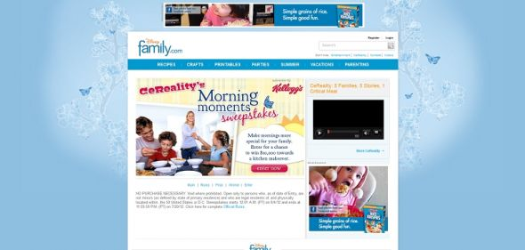 CeReality's Morning Moments Sweepstakes