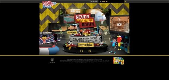lunchables.com/kids – LUNCHABLES Never Be Bored Again Instant Win Game