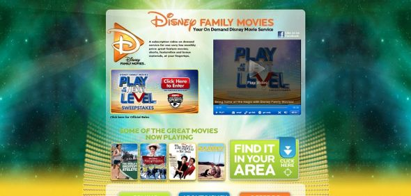 disneyfamilymovies.com – Disney Family Movies Play at the Next Level Sweepstakes
