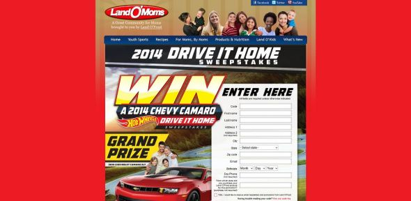 landomoms.com – Land O'Frost Drive It Home Game
