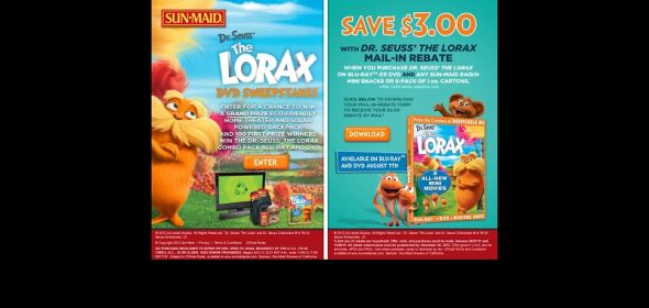 Bring Home The Lorax Sweepstakes