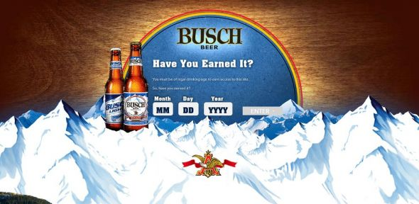 Busch Busch Light Reel in a Winner Game