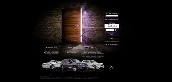 Infiniti At Your Service Instant Win and Sweepstakes