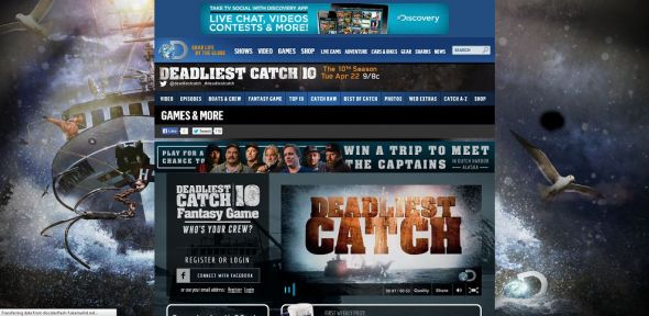 discovery.com/catchgame – Deadliest Catch Fantasy Game