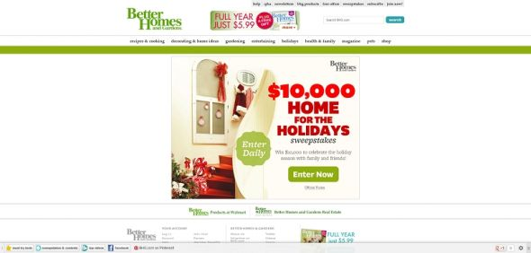 $10,000 Holiday Sweepstakes