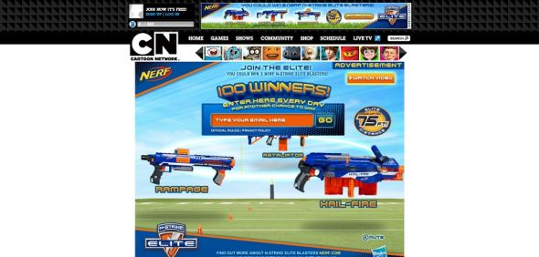 Hasbro Nerf N-Strike Elite Sweepstakes