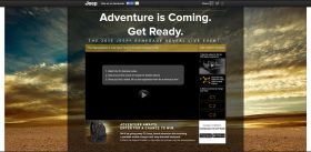 jeeprenegadereveal.com – Jeep Renegade Reveal Sweepstakes