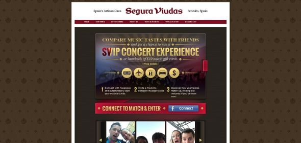 Segura Viudas Discover &#038; Share Your Tastes Promotion