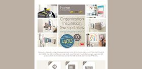 Organization Inspiration Sweepstakes