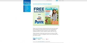 Join the Fun with Purex & Family Fun Magazine Sweepstakes