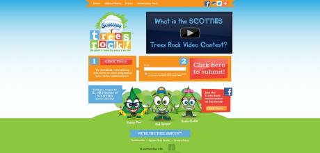 scottiestreesrock.com  Scotties Trees Rock Video Contest