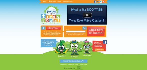 scottiestreesrock.com – Scotties Trees Rock Video Contest