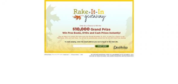 Rake-it-in Sweepstakes