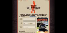 tobykeith.com/ford – Toby Keith Shut Up and Hold On Sweepstakes