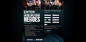 Encore Hollywood Heroes Sweepstakes