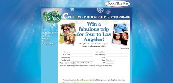 Disney Fairies Celebrate Sisters Giveaway
