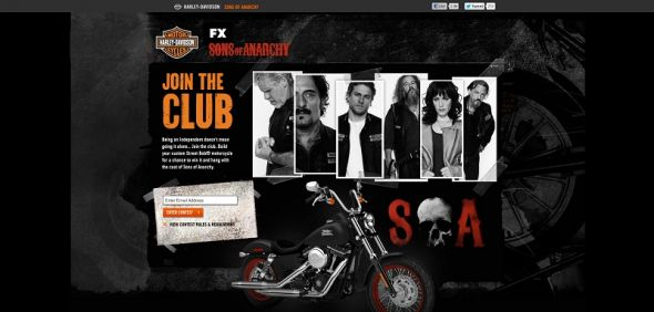 Harley-Davidson Sons of Anarchy Contest