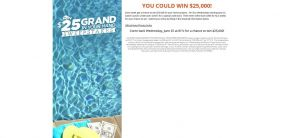 www.hgtv.com/cousins – HGTV 25 Grand in Your Hand Sweepstakes