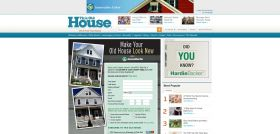 This Old House Make Your Old House Look New with James Hardie Sweepstakes