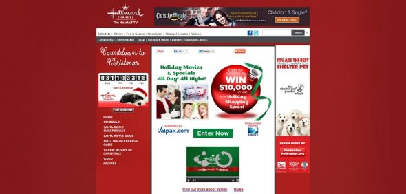 Valpak Holiday Sweepstakes