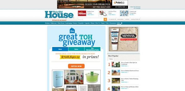 thisoldhouse.com/win – This Old House Great TOH Giveaway Sweepstakes