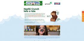 Nestlé Crunch Campfire Stories Promotion