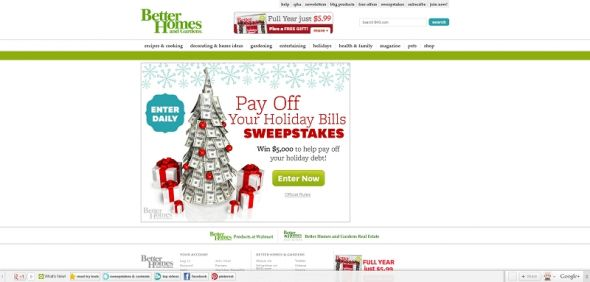 $5,000 Bills Sweepstakes