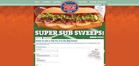 jerseymikes.com/supersubsweeps – Jersey Mike's Super Sub Sweeps