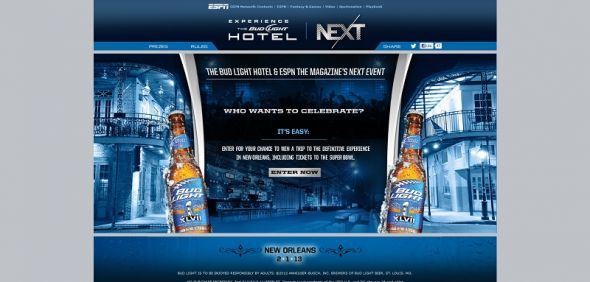 Bud Light Sweepstakes