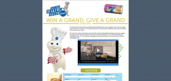 Win A Grand, Give A Grand Sweepstakes