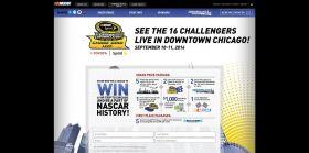 Enter NASCAR Chase Grid Live Sweepstakes at NASCAR.com/ChaseGridLive.
