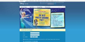 Disney Frozen Best Karaoke Party Ever Sweepstakes