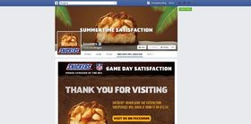 Snickers Brand Game Day Satisfaction Sweepstakes