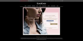 bebe Wear Denim, Win Diamonds Sweepstakes at bebe.com/diamonds