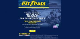 Goodyear Pit Pass Sweepstakes